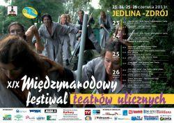 XIX Międzynarodowy Festiwal Teatrów Ulicznych