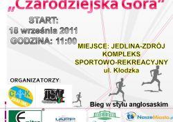 """II  Półmaraton  """"Czarodziejska  Góra""""  -  Jedlina-Zdrój"""